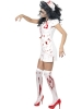 Zombie Nurse Halloween Fancy Dress Costume